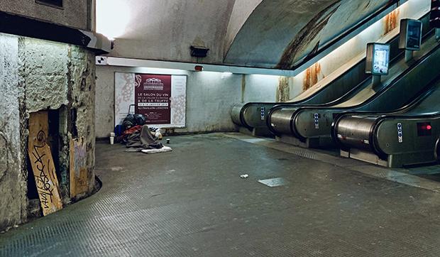 Центральная станция парижского метро «Шатле — Ле-Аль»