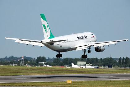 Иранскую авиакомпанию заподозрили в терроризме и запретили
