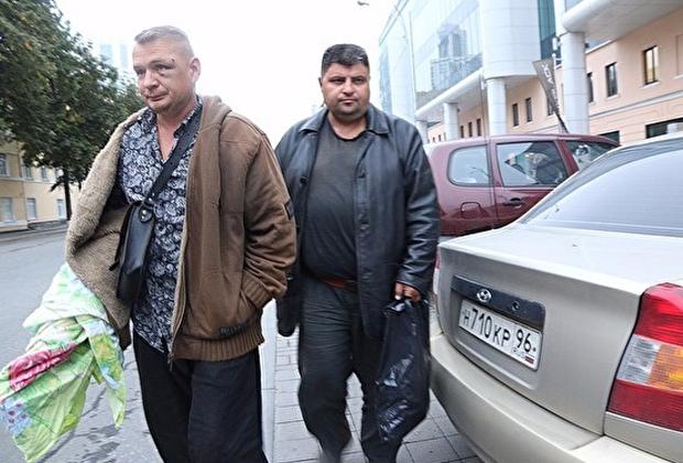Олег Шишов (слева) и Александр Дутов сдались полиции на следующий день после перестрелки