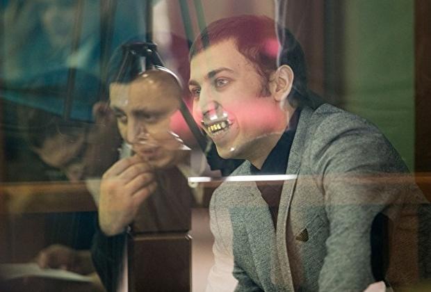 Дмитрий Пестриков на скамье подсудимых