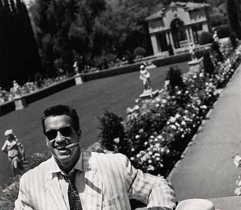 Это фото Арнольда Шварценеггера сделано уже после того, как актер обрел статус мега-звезды благодаря «Конану-варвару», «Терминатору» и «Коммандос».