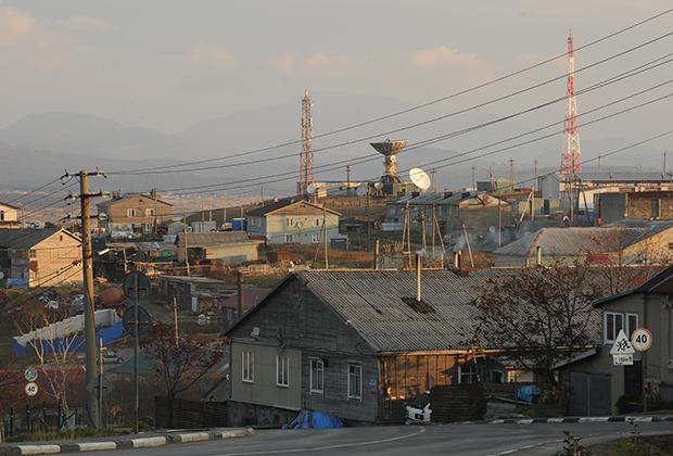 Поселок городского типа Южно-Курильск