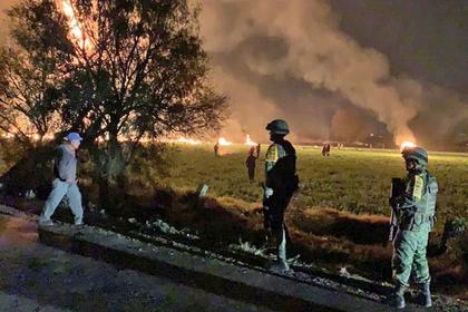 Число погибших при краже нефти в Мексике выросло до 89