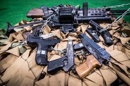 В Сирии нашли склад с оружием террористов