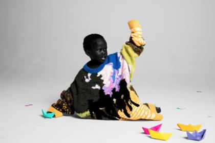 Дизайнер-бунтарь взялся за чернокожих детей