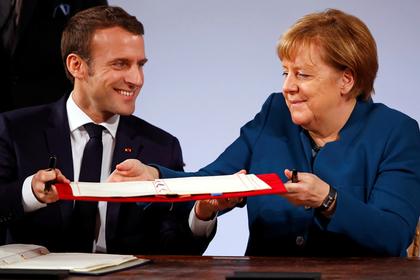 Германия и Франция договорились защищаться без НАТО