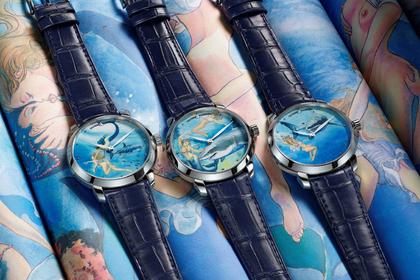 Итальянец украсил часы эротическими сценами