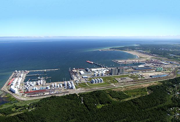 Эстонский порт Мууга