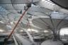 Фасадные работы уже завершены. Предполагается, что к 2025 году аэропорт будет обслуживать около 70 миллионов пассажиров в год, при этом его максимальная пропускная способность составит 100 миллионов человек/год.