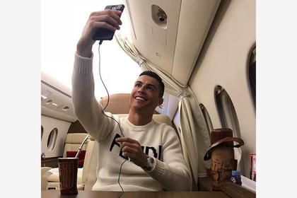 Роналду назвали эгоистом за радостное фото в день пропажи самолета с футболистом