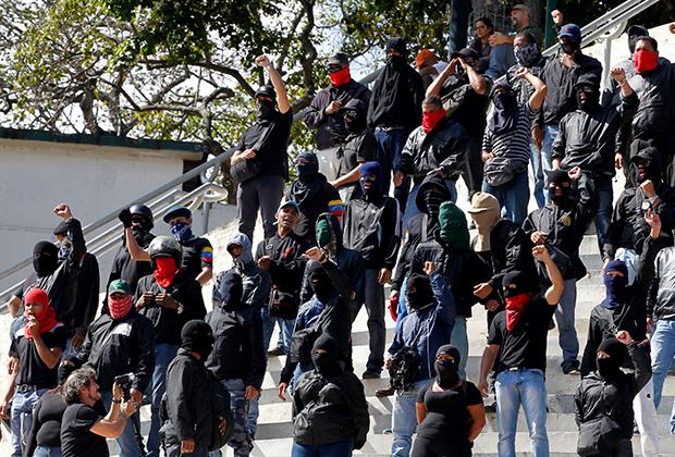Колективос в Каракасе