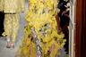 Некоторые модные эксперты увидели в моделях из новой кутюрной коллекции Пьерпаоло Пиччоли для Valentino аллюзии на знаменитое платье babushka из осенне-зимней коллекции Ива Сен-Лорана 1965 года. Другие сконцентрировали внимание на колготках с цветочным принтом в тон платьям.