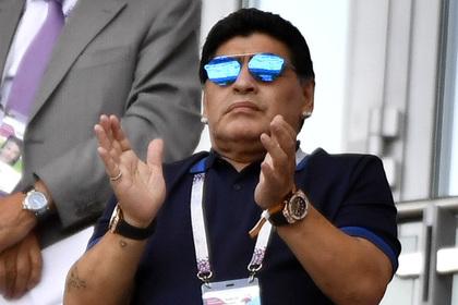 Марадона вступился за Мадуро