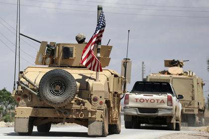 США направили в Сирию войска для прикрытия вывода войск