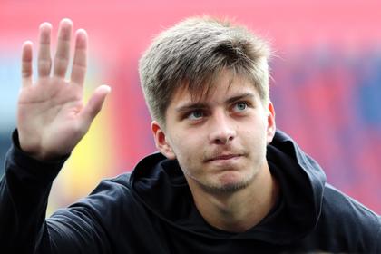 Футболист российской молодежки отправился в Европу