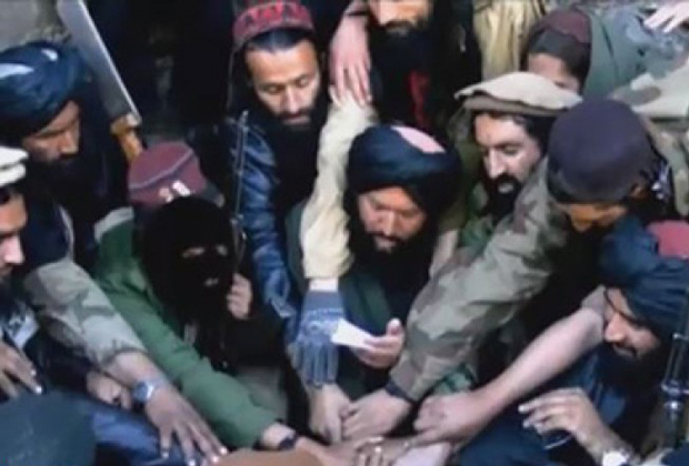 Бойцы «Исламского движения Узбекистана» (ИДУ)