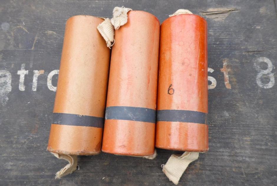 Ручная газовая граната «Черемуха»