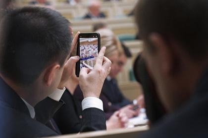 Правительство отказалось от идеи обложить налогом смартфоны россиян