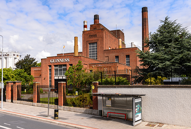 Музей пива Guinness в Дублине