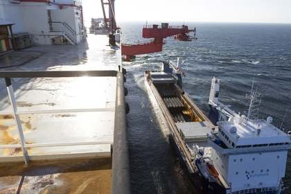 Укладка газопровода в Финском заливе