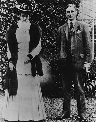 Элеонора Рузвельт с женой китайского лидера Чан Кайши Сунг Мей-Лин, 1943 год