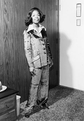 Опра Уинфри в 1971 году