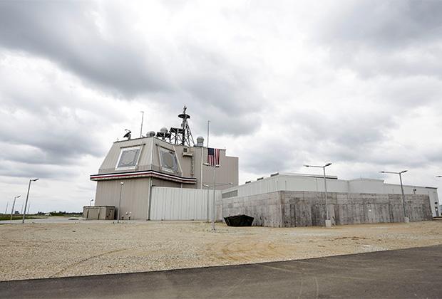 Объект американской системы ПРО Aegis Ashore в Румынии
