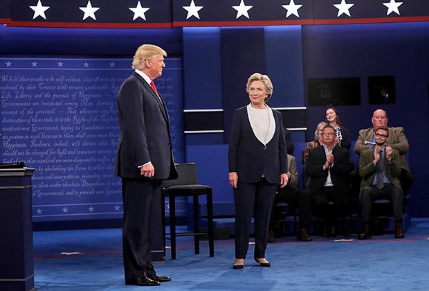 Билл и Хиллари Клинтон на инаугурационном балу