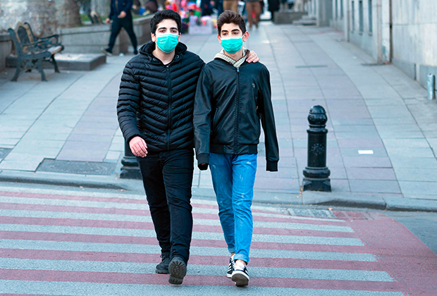 На улицах Тбилиси