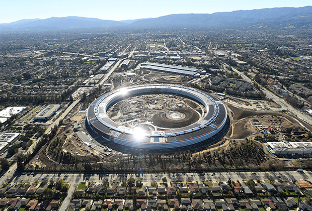Офис Apple в Кремниевой долине