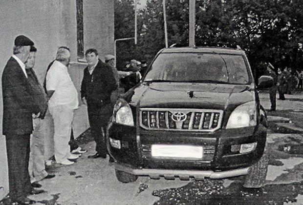 Машина убитого Фраля Шебзухова