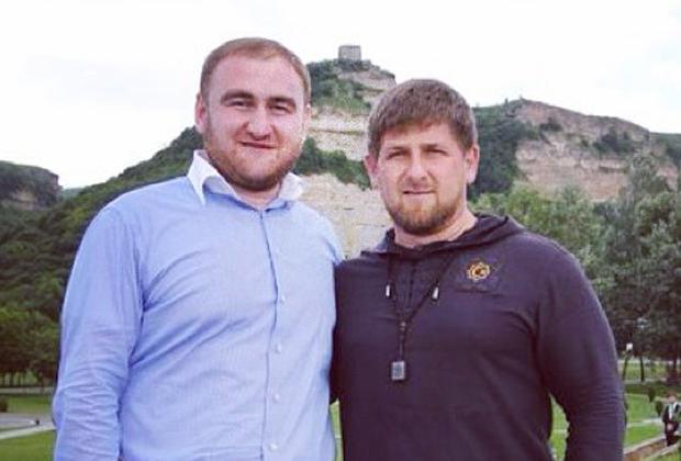Рауф Арашуков и Рамзан Кадыров