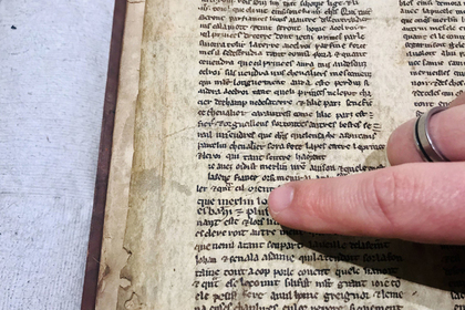 В британской  библиотеке случайно отыскали  рукопись окороле Артуре