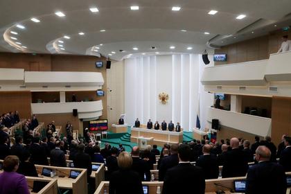 В Совфеде не исключили новых арестов сенаторов