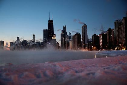 США накрыли рекордные морозы