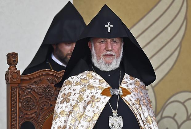 132-м Верховным патриархом и Католикосом всех армян под именем Гарегин II Ктрич Нерсисян стал в 1999 году. Богословское образование получил в Вене и Загорске, долгое время работал в ФРГ.