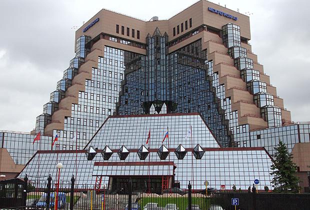 Здание центрального офиса компании «Межрегионгаз» в Москве