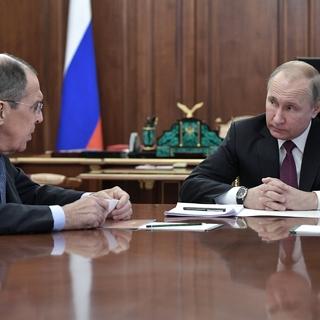 Сергей Лавров и Владимир Путин