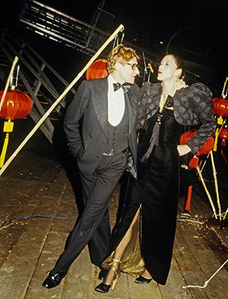 Вечеринка в честь запуска аромата Opium на Манхэттене