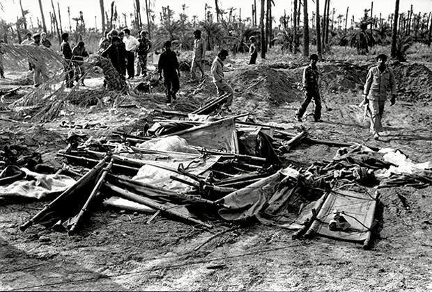Во время ирано-иракской войны, 1988 год