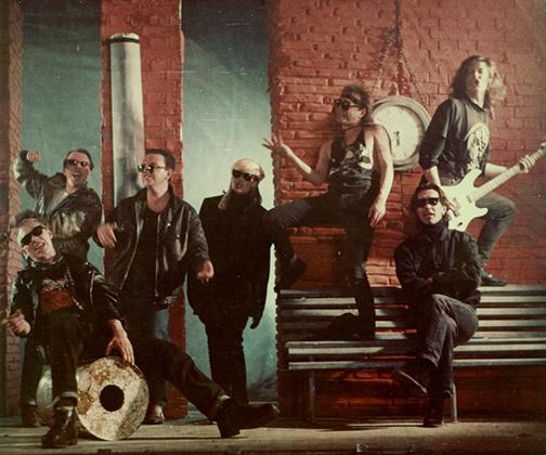 1992 год. Москва. Съемки видеоклипа «Все это рок-н-ролл»