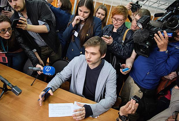 Вынесение приговора по делу блогера РусланаСоколовского в Екатеринбурге