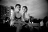Как говорит фотограф, если посмотреть в Instagram, то можно увидеть, что люди с удовольствием едут снимать красоты других стран. Другое дело — снимать столицу родины во время катастрофы. Целующиеся подростки, бабушки, дети... Все это происходит во время войны — первой чеченской, второй чеченской. «Эти фотографии сделаны для того, чтобы сохранить драйв Москвы, в то время как весь мир следит за войной», — объясняет Мухин.