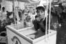 Это была работа с планом в руках. Закончив очередной проект, в 1993 году Мухин набрасывает примерный список того, что хочет снять в рамках нового. Конечно, не все его пункты удалось выполнить — а некоторые еще и добавились. Играющие во дворах дети постепенно исчезли. На смену советским праздникам пришли не совершенно новые российские, а видоизмененные торжества времен погибшей империи.