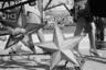 «Когда эту фотографию используют в книгах или на выставках, она рифмуется с уходом советской эпохи», — рассказывает Мухин. В тот же год на здании Исторического музея поднимутся двухметровые бронзовые орлы. Звезды, соседствовавшие с уличными фонарями, исчезают, и появляются новые символы— символы царской России.