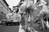 Мухин продолжает фотографировать повседневную жизнь москвичей и сейчас — на черно-белую пленку. «Что-то не сложилось у меня с цифрой,— признается он. — Пленка дает возможность сохранить момент, ведь нет возможности посмотреть, что я уношу со съемочной площадки».