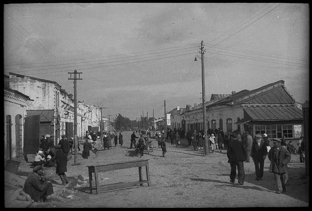 Украинский городок, 1941 год.