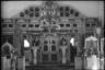 Интерьер православной церкви. Украина, 1941 год.