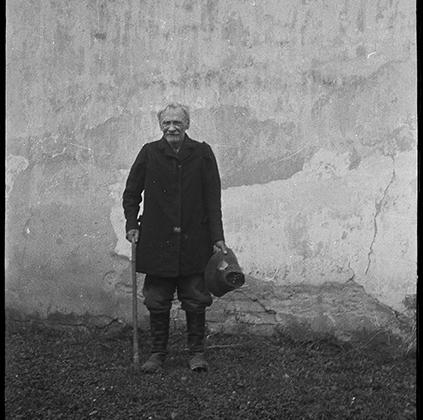 Деревенский житель. Украина, 1941 год.