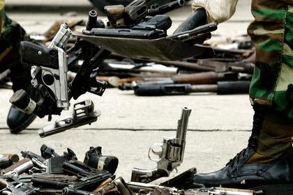 В Венесуэле нашли оружие из США